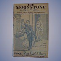 Moonstone, HB DJ, Wilkie Collins, The Sun Dial Library,