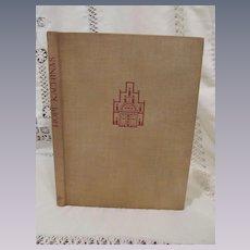 1938 Hopi Kachinas,Illustrated, Edwin Earl, Edward A Kennard, Publisher The Waverly Press