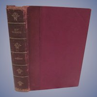 1902 Kit Carson, The Great Western Hunter & Guide by Charles Burdett,