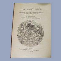 Fairy Book, Mrs Mulock's Works, Dinah Mulock Craik, Fairy Tales, Publ Harper & Brothers