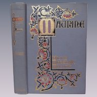 1901 Maurine and Other Poems by Ella Wheeler Wilcox, Photographic Life Studies,Illustrated, Publ by W B Conkey Company