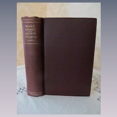 1800's Sir Walter Scott, The Black Dwarf, Tales of My Landlord, Quentin Durward..Oxford Edition..Publ Clarke, Given & Hooper