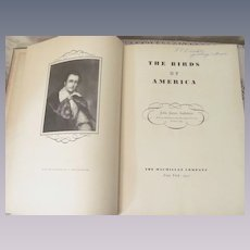 1937 Large, Birds of America, John James Audubon, MacMillan Company