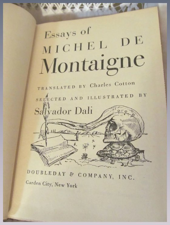 "complete essays of montaigne frame Donald frame translates and compiles three volumes of montaigne' essays into one book–""the complete essays of montaigne"", first published in 1957 one of the benefits of frame's translation is in asides that clarify meaning, place, and person."