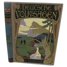 Deutsche Volkssagen, Rudolf Reinhardt, illustrated by Max Wulff