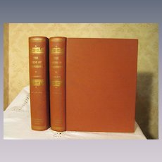 1936 The Birds of Minnesota, 2 Vol Set by Thomas S Roberts, Illustrated Color Plates, Publ The University of Minnesota Press