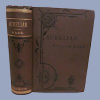 1866 Aurelian, Sequel to Zenobia by William Ware, Publ James Miller