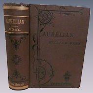 1866 Aurelian, Sequel to Zenobia by William Ware, Publ James Miller