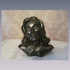 "Willoughby Studio 7"" Lady Head Bust, Dated 1949"