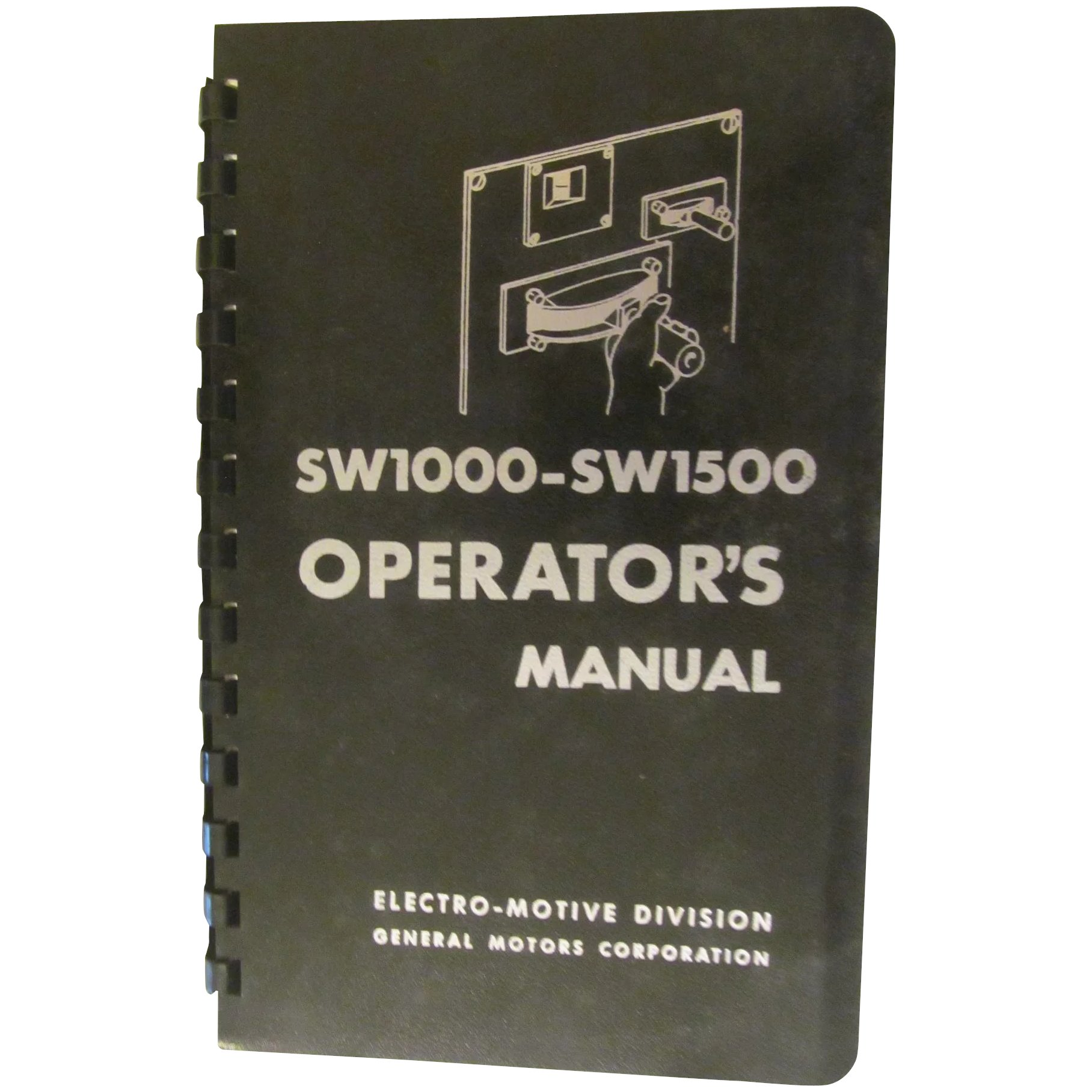 1969 emd diesel locomotive sw1000 sw1500 operators manual general rh rubylane com Relco Locomotives New Shop Relco Locomotives