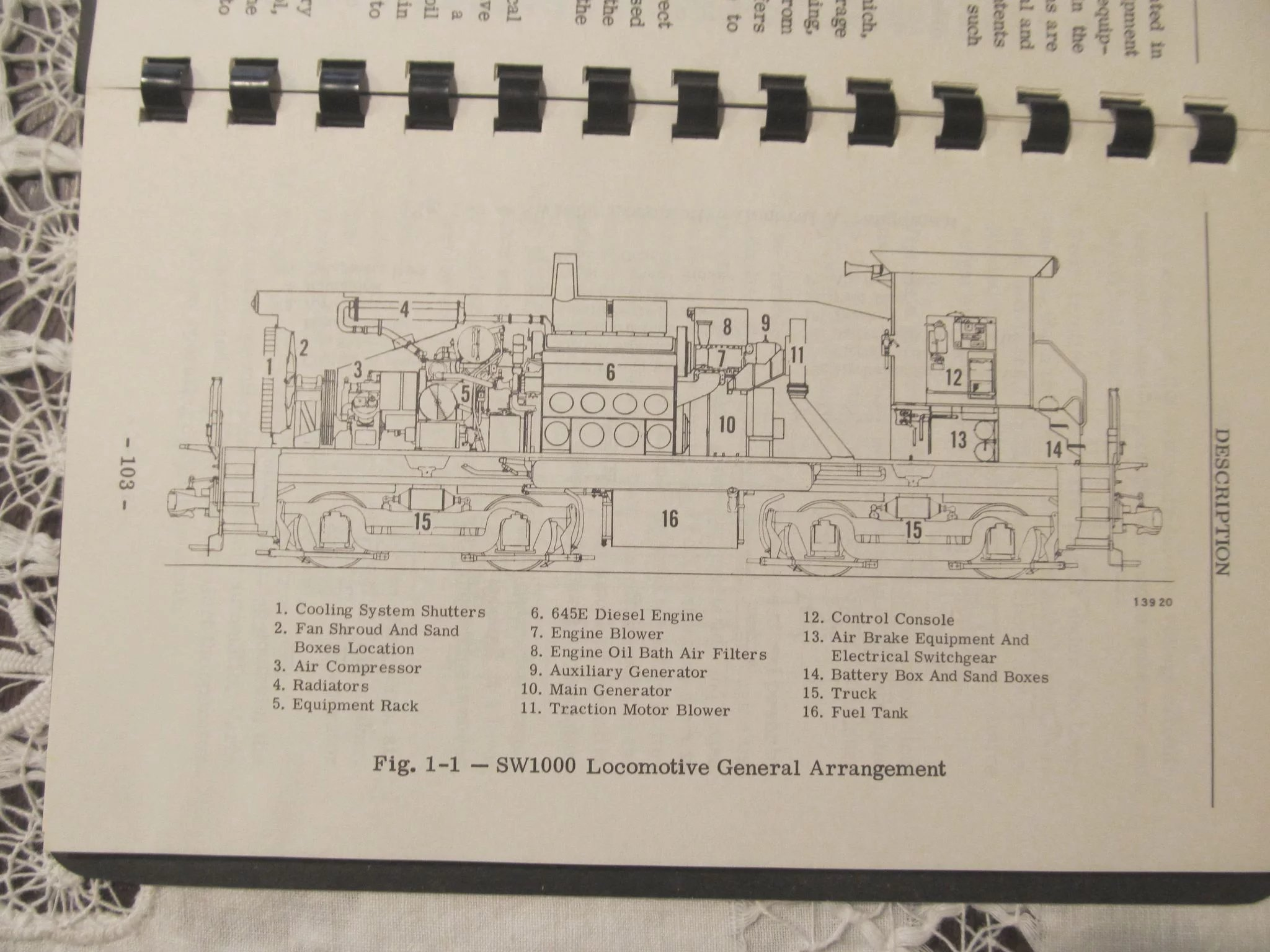 1969 emd diesel locomotive sw1000 sw1500 operators manual general rh rubylane com SW1500 Locomotive Service Manual Relco Locomotives New Shop