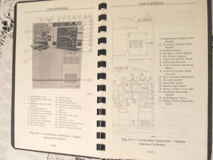 1969 emd diesel locomotive sw1000 sw1500 operators manual general rh rubylane com Doug Bachman Relco Locomotives Relco Locomotives