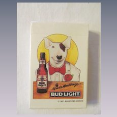 Spuds Mackenzie Bud Light Anheuser Busch Unopened Playing Cards