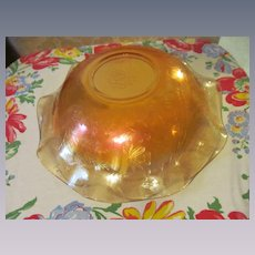 """Floragold Louisa 11 1/2"""" Bowl by Jeannette"""