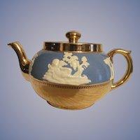 Gibson Staffordshire England Teapot, Cherub, Classical Mythology
