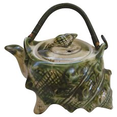 McCoy Pottery Small Shell Teapot