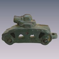 Cast Iron Toy Tank
