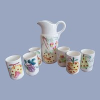 Cheery Seven Piece Juice Set by Japan, Fruits