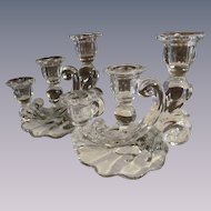 Cambridge Caprice 3 Light Candle Holders