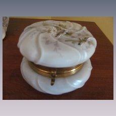 Victorian Wavecrest Dresser Jar Box