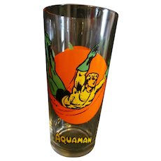 Aquaman1976 Pepsi Super Series DC Comic Glass