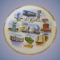 "Las Vegas Casino Gambling 10 1/2"" Plate"