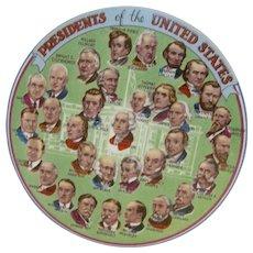 President Eisenhower Presidential Plate