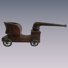 French Bebe Peugeot Car Auto Tobacco Pipe