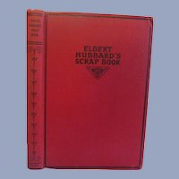 1923 Elbert Hubbard's Scrap Book, Copyright The Roycrofter, Publ by Wm H Wise & Co