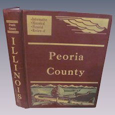 1955  Peoria County Illinois Aerial History by John Drury, Maps, Aerial Photographs.Cities, Towns, Villages, Farmlands