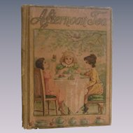 1886 Afternoon Tea, Rhymes for Children by Sowerry & Emmerson, Worthington Co