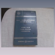 1965 Diesel Electric Locomotive Model U25Bi Service Manual by General Electric