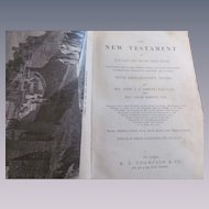 1878 The New Testament, Notes by Rev John Stevens Cabot Abbott and Jacob Abbott