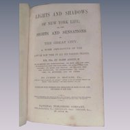 1872 Lights and Shadows of New York Life by McCabe Jr, National Publishing Company