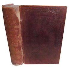 1863 The Great Rebellion, History of the Civil War by Headley, hurlbut, Williams & Company