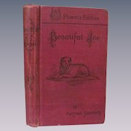 1903 Beautiful Joe, True Dog Story by Marshall Saunders, Charles H Banes Publisher