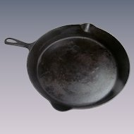 "Cast Iron Favorite Piqua 12"" Skillet"