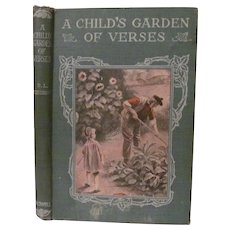 1918 A Child's Garden of Verses by Robert Louis Stevenson, Crowell Company