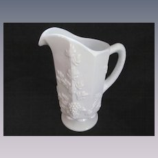 "Westmoreland Paneled Grape 9"" Pitcher"