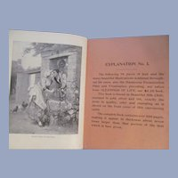 1895 Salesman Sample Book, 3 Book Samples, Profusely Illustrated, International Publishing Company