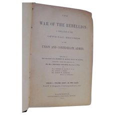 1891 War of the Rebellion: Official Records of the Union and Confederate Armies, Series 1, Volume XXXV In Two Parts