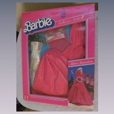 1983 Mattel Barbie Silver Sensation Fashion Outfit #7438, Collector Series III, MIB