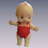 "Celluloid 7"" Kewpie Doll, Jointed"