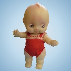 """Celluloid 7"""" Kewpie Doll, Jointed"""
