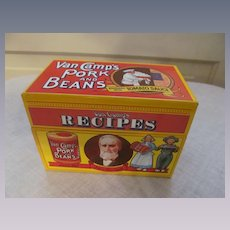 Advertising Receipt Box, Van Camp Pork & Beans Limited Edition 1986