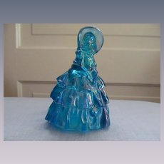 Wheaton Carnival Glass Victorian Dressed Lady
