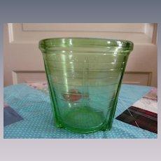 Vidrio Green 2 Cup Beater Mixing Jar Depression
