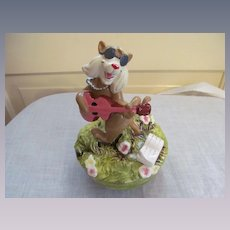 Walt Disney Schmid Aristocats Hep Cat Music Box #293