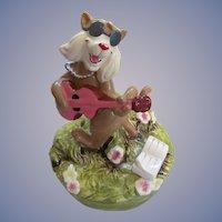Walt Disney Schmid Aristocats Hep Cat Music Box #293