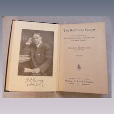 1914 The Real Billy Sunday, Professional Baseball Player, Christian Evangelist